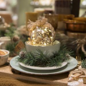 Ideas Decoración Centros de Mesa de Navidad