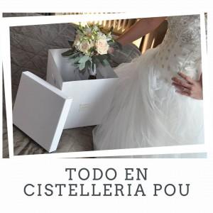 Caixa especial especial per al ram de núvia!