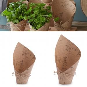 Packaging para plantas, Elegantes macetas de floristería