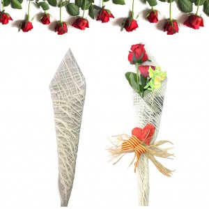 Complementos para SANT JORDI, Cono para Rosa individual, Cucurucho para la rosa de Sant Jordi, envoltorios para Sant Jordi, Envoltorios originales para la rosa, ESPIGAS - TRIGO AL MAYOR