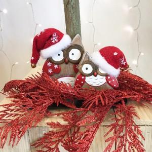 Figuras decorativas con detalles ideales para estas Navidades